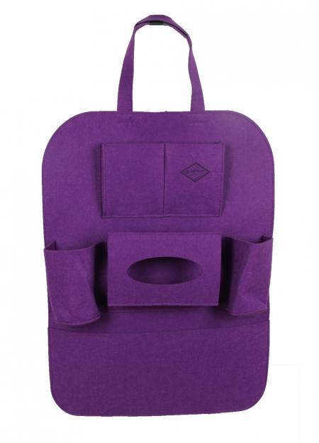 войлочный органайзер на спинку «фиолетовый»